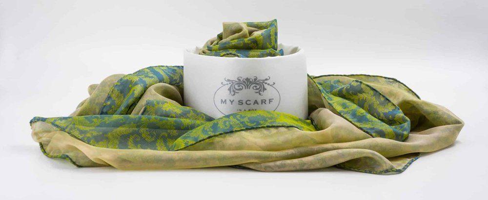 sciarpa my scarf in a box