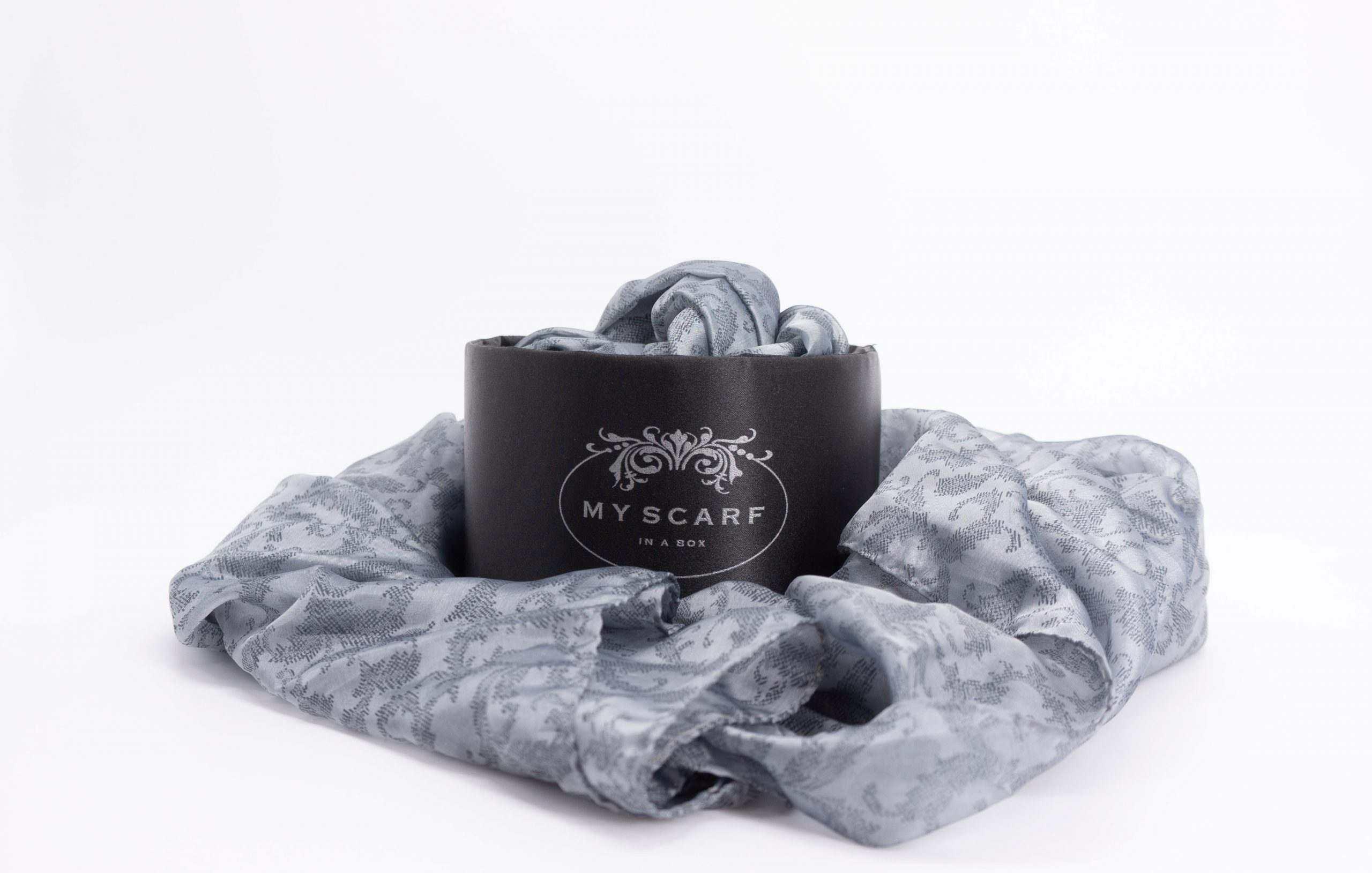 sciarpa galatea my scarf in a box